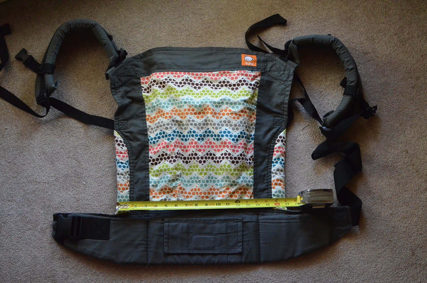 Tula Toddler Carrier width