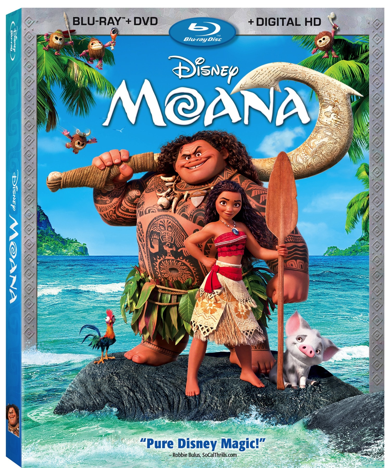 Moana Bluray Combo