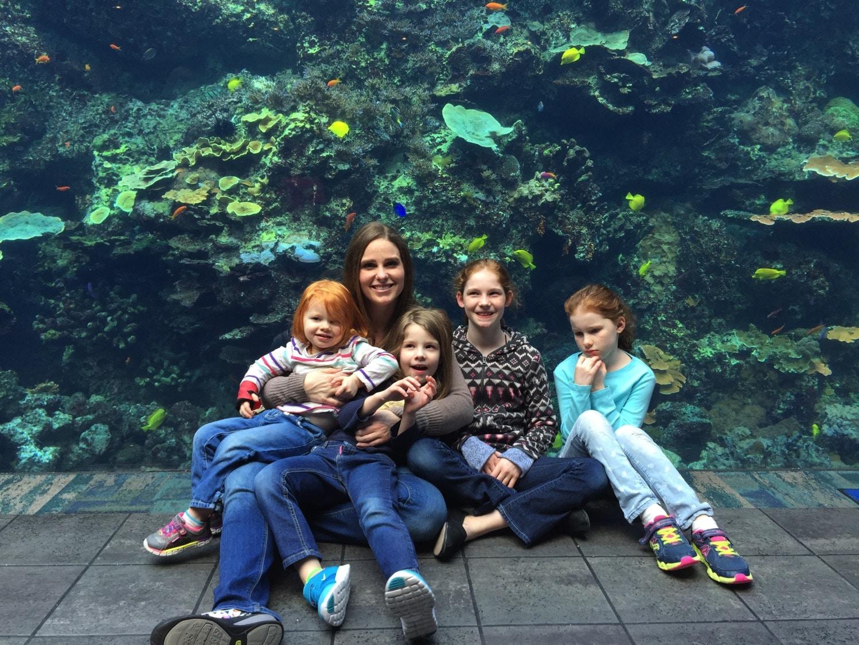 Mommy and Me at the Georgia Aquarium