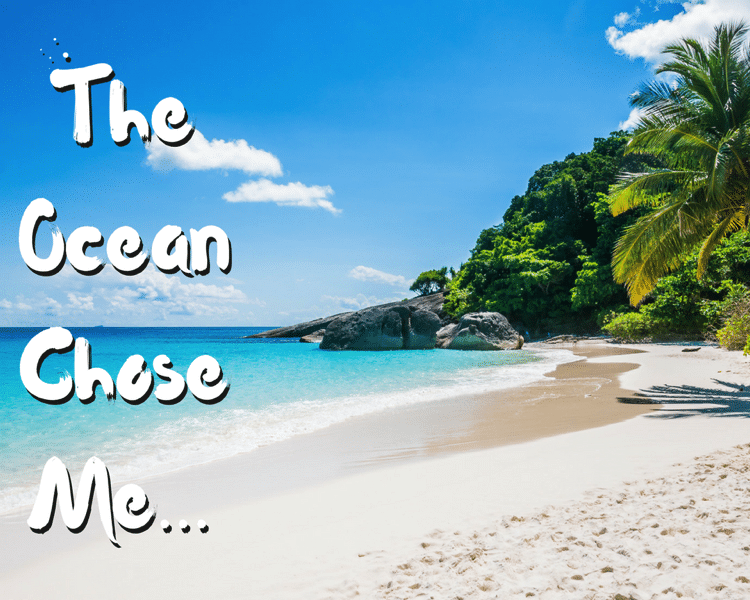 The Ocean Chose Me Moana free printable