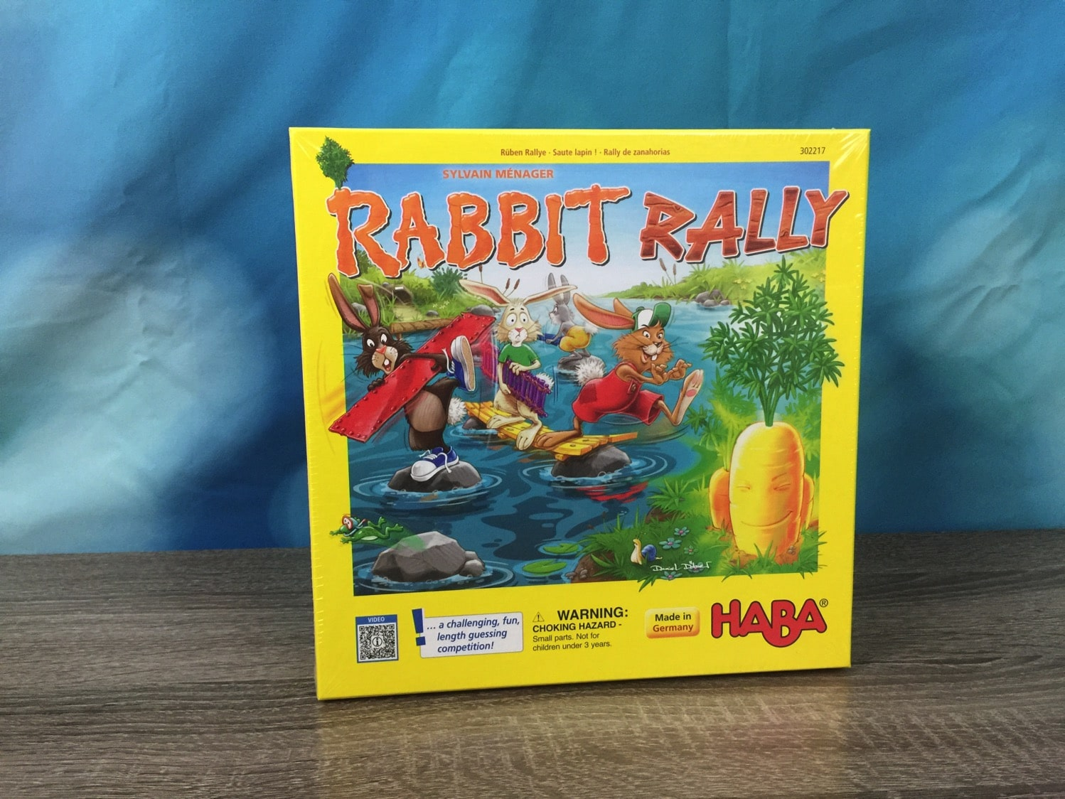 Rabbit Rally by HABA game