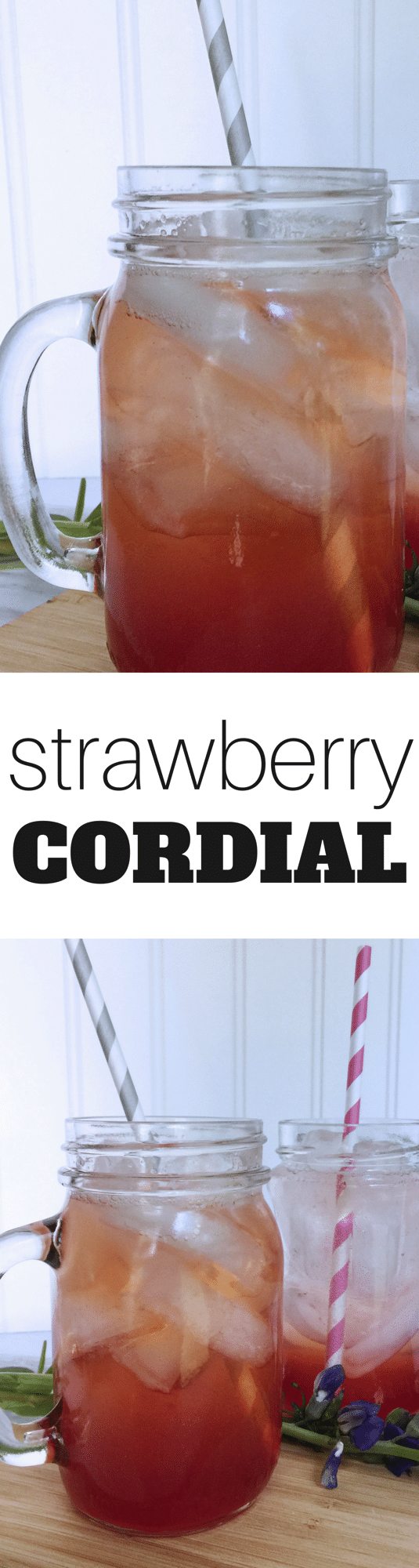 Strawberry Cordial Recipe