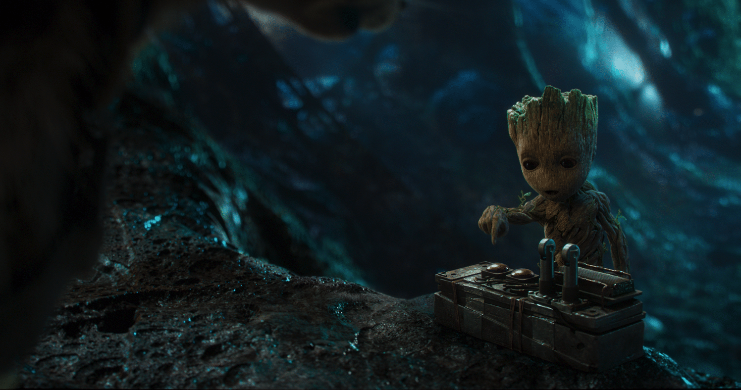 Tiny Groot Guardians of the Galaxy, vol 2