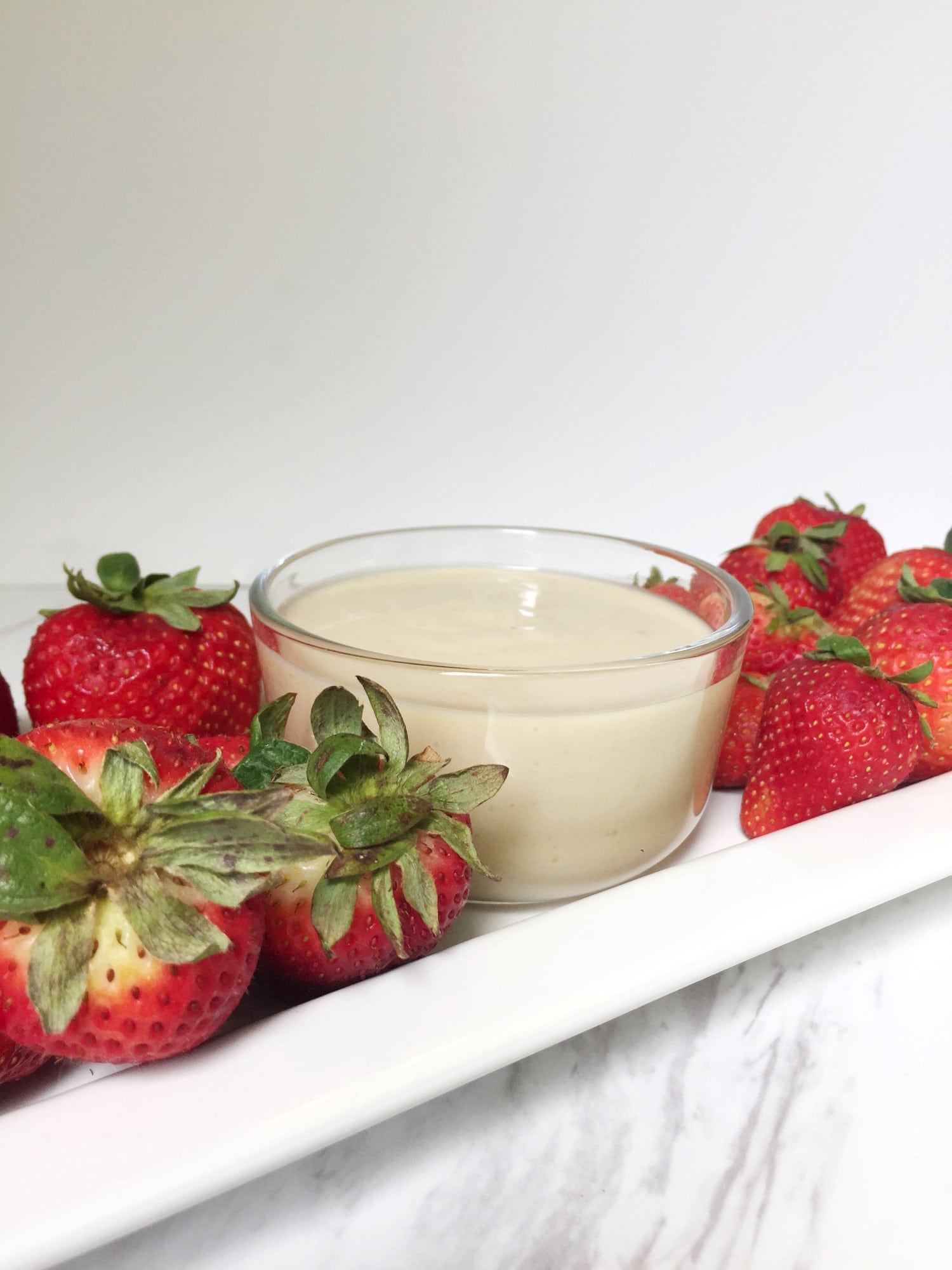 easy and quick fruit dip ingredients
