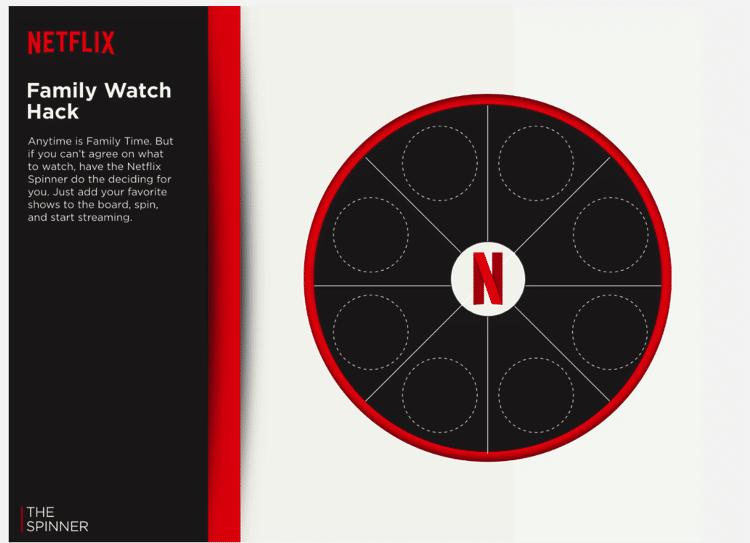 Netflix Family Watch Hack Spinner