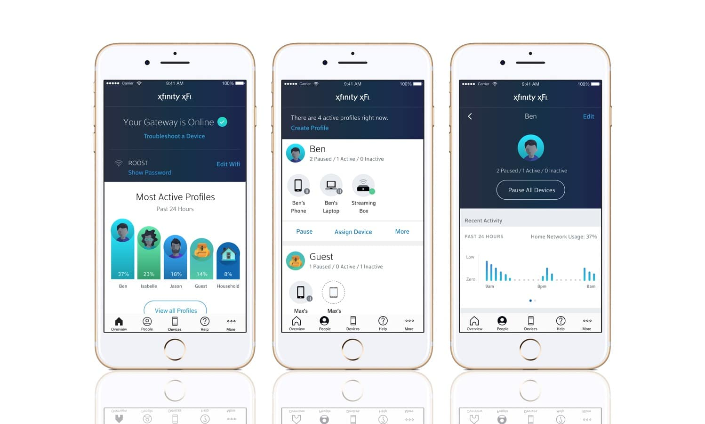 Xfinity xFi app mobile general