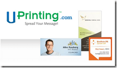 Win 500 Custom Business Cards from UPrinting