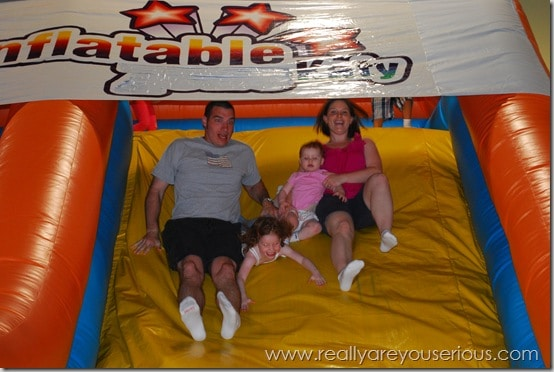 Inflatable Katy slides