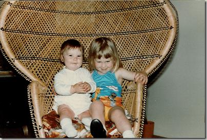 krystyn and em in chair