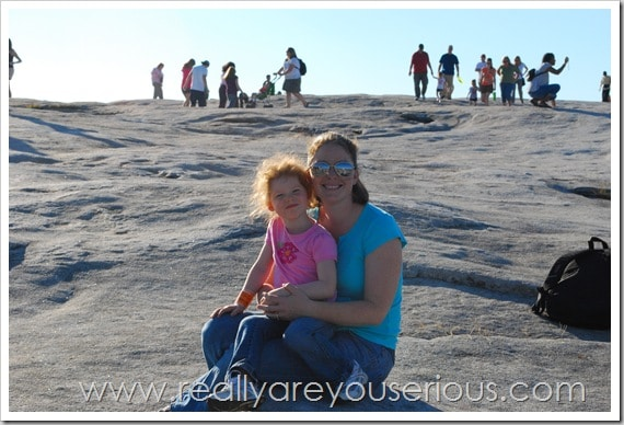 Mommy and Me Monday- Stone Mountain Park