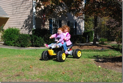 #1 and #2 on the four-wheeler