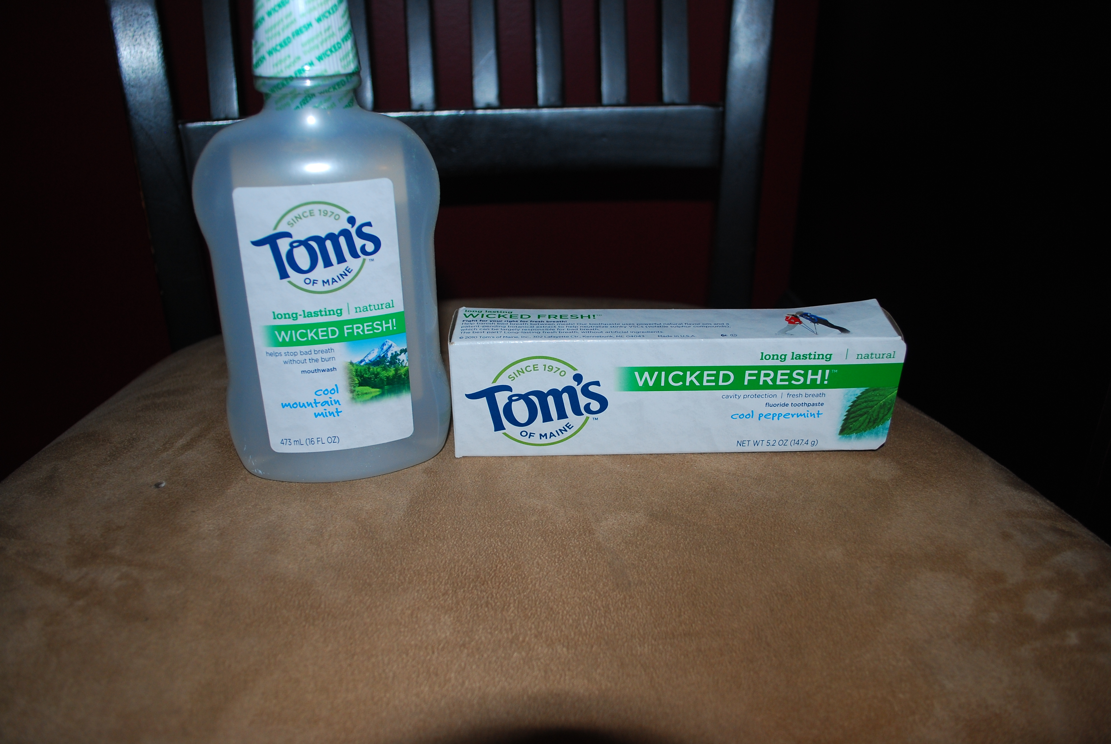 Tom's of Maine Wicked Fresh $50 Giveaway