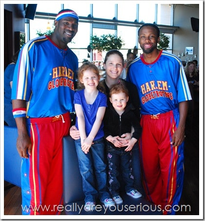 Mommy and Me Monday with the Harlem Globe Trotters
