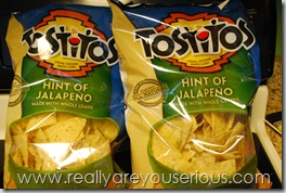 Tostitos Hint of Jalapeno Review