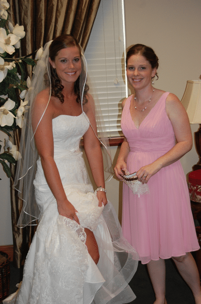 Sisters with the garter