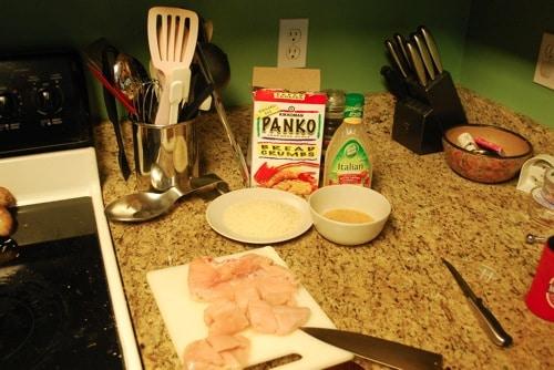 homemade zesty chicken nuggets