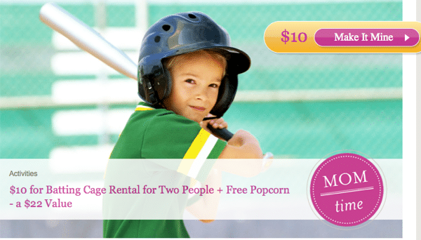 Batting cages giveaway