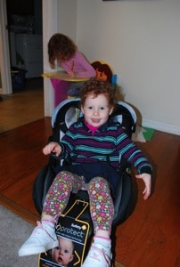 3 year old is too big for seat