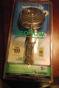 waterpik ecoflow showerhead