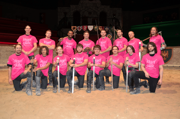 Medieval Times Fight for the Cause Giveaway