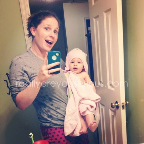 Mommy and Me Monday- bath time