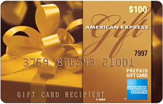AMEX giftcard giveaway