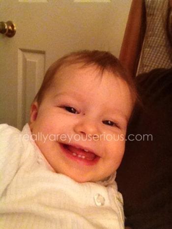 sweet E smiles