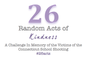 26 Random Acts of Kindess