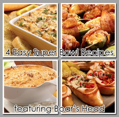 4 Easy and Simple Superbowl Recipes