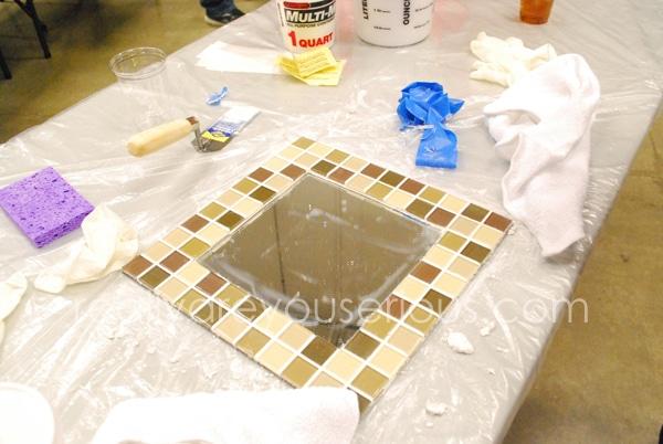 DIH Workshop Mosaic Mirror