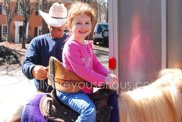 Riding on a pony | Mommy and Me Monday