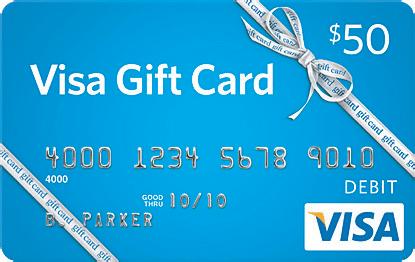 Visa $50 gift card giveaway