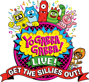 Yo Gabba Gabba! Live! Get the sillies out!