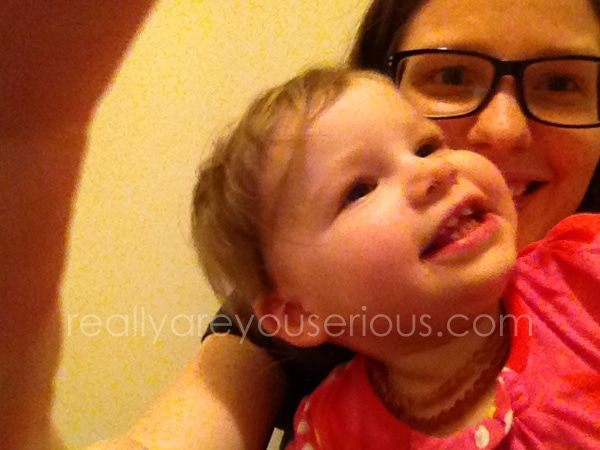Mommy and Me Monday Photobombing