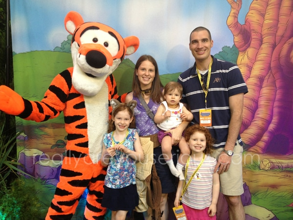 Tigger for Mommy and Me Monday at Disney