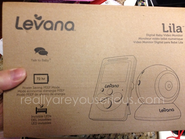 Levana Lila Video Baby Monitor Review and Giveaway