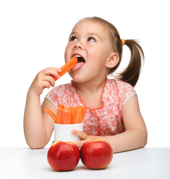 Kid Snacking