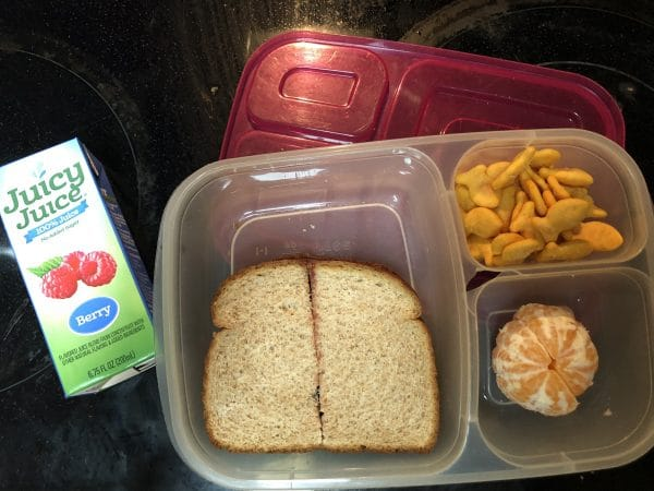 Easy preschool lunch