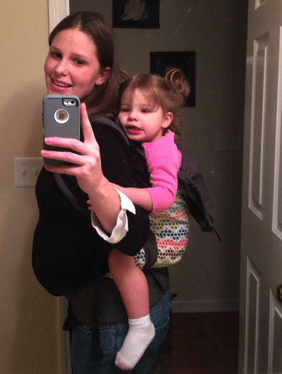 Mommy and Me Monday with the Tula Toddler
