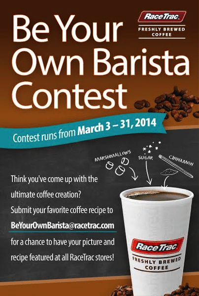 Be Your Own Barista Giftcard Giveaway