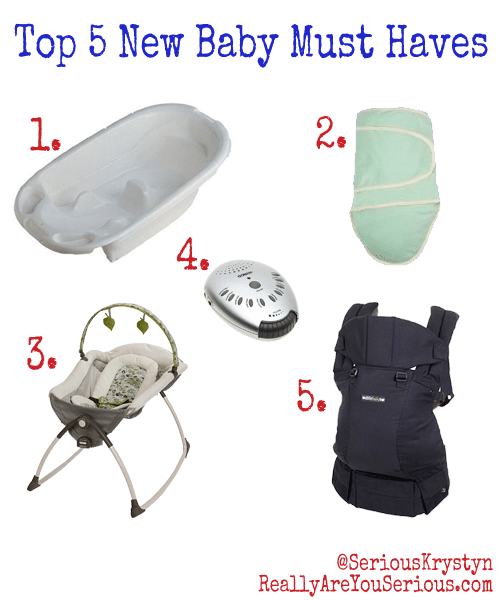 New Baby Must Haves Top 5
