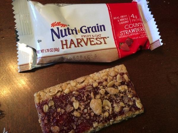 Nutrigrain Fruit & Oat Harvest Bar