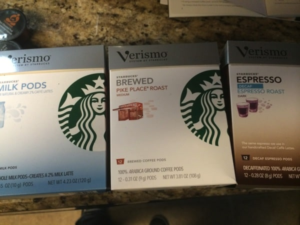 Starbucks Verismo Review