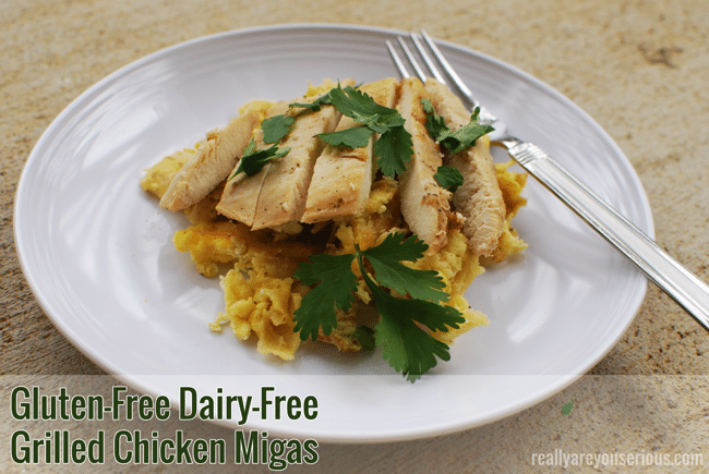 #ad #CookItGF Gluten-Free Diary-Free Migas #CollectiveBias #shop