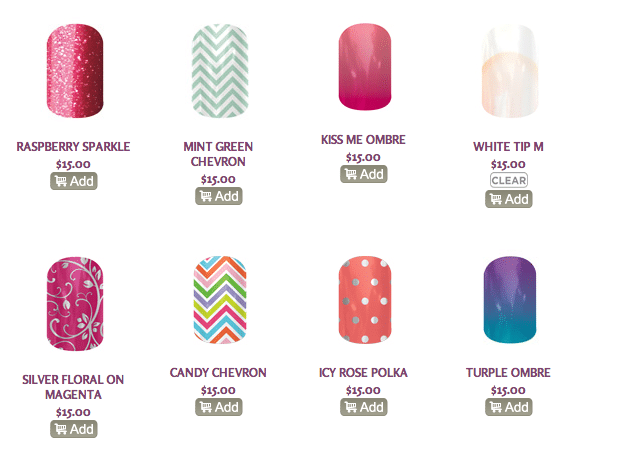 Jamberry Nails Challenge and Giveaway