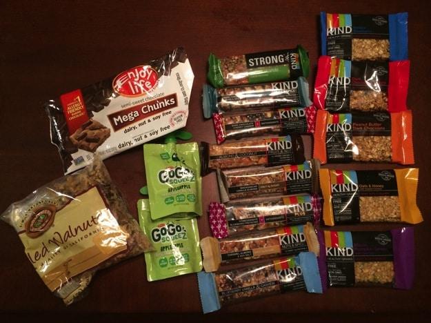 Allergen friendly snacks