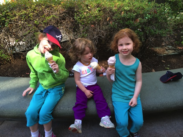 ice cream at disneyland