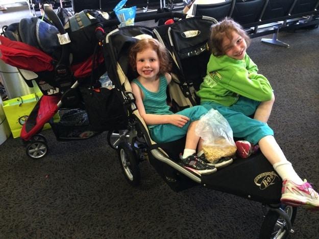 Disneyland with 4 kids