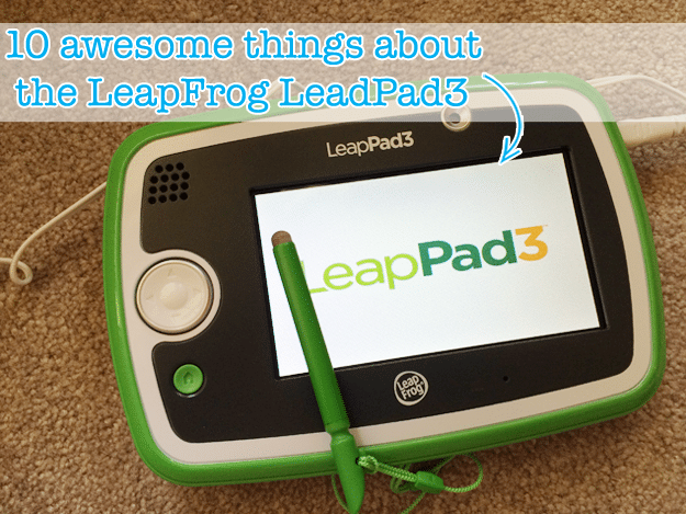 10 awesome things about the #LeapPad #LeapFrog3