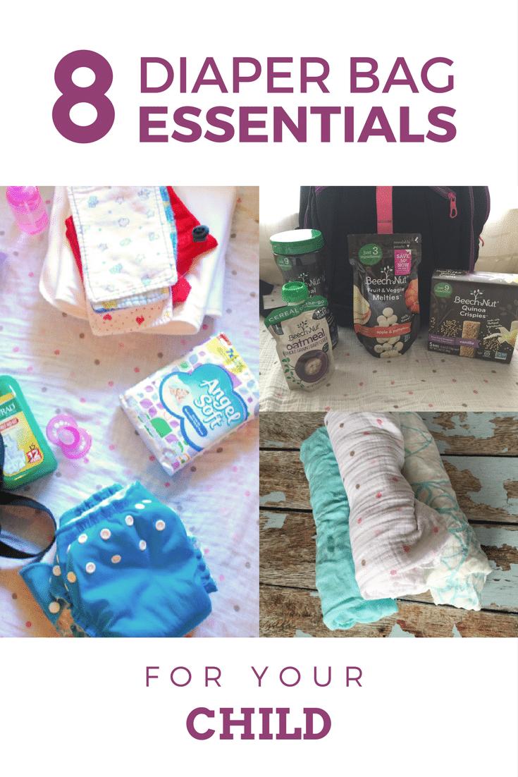 8 diaper bag essentials